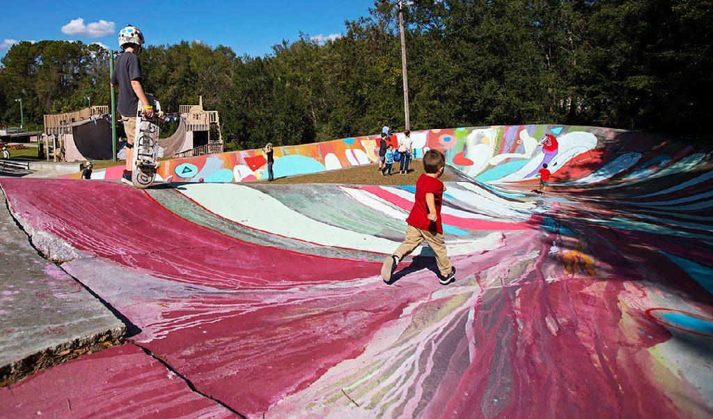 Color Me Kona 2018 - Kona Skatepark